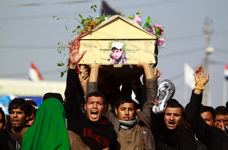 Image: Iraq mourners