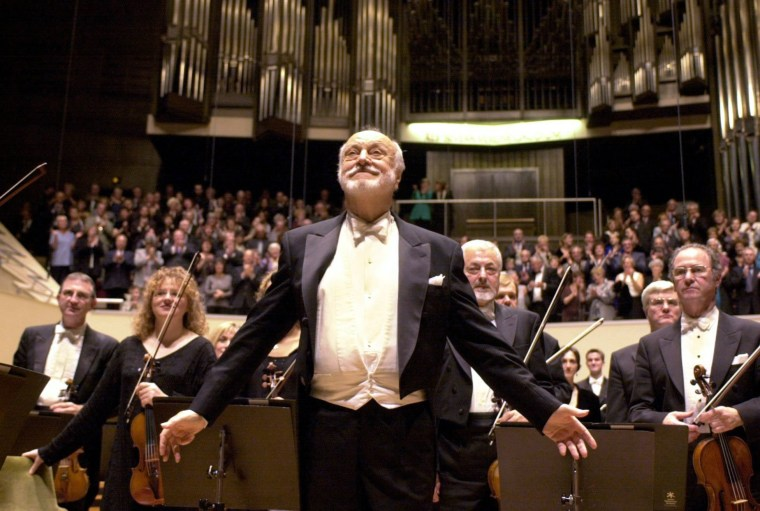 Image: Conductor Kurt Masur dies