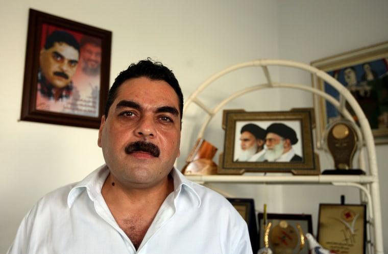 Image: Samir Kuntar, a senior figure in Hezbollah, pictured in Beirut in 2008.