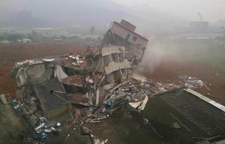 Image: CHINA-LANDSLIDE