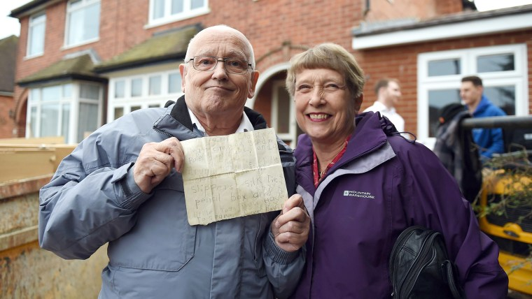 Man reunited with 60-year-old Santa's letter