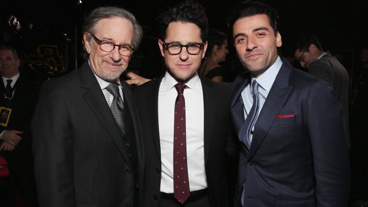 J.J. Abrams (center)