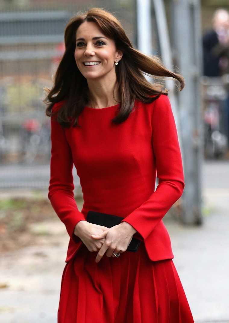 Catherine, Duchess of Cambridge, attends the Anna Freud Centre Family School Christmas Party