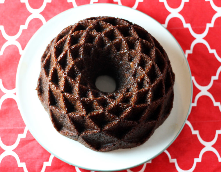 Gingerbread bundt cake by TODAY Food Club member Christen in the Kitchen