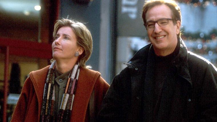 Love Actually's Emma Thompson and Alan Rickman