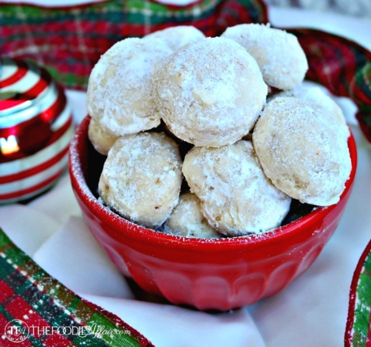 Mexican wedding cookies by TODAY Food Club member The Foodie Affair