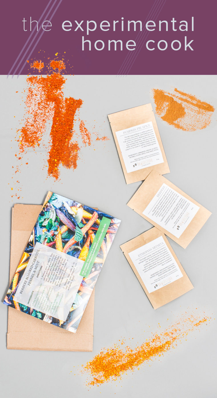 Holiday gift guides - Raw Spice Bar, a subscription services for your favorite foodie