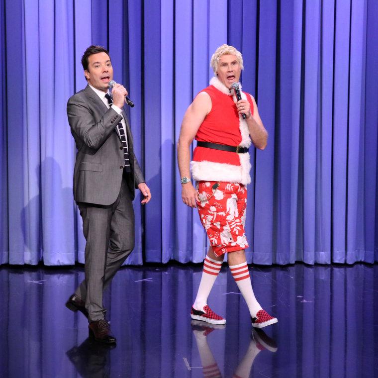 Will Ferrell is New Santa on the Tonight Show