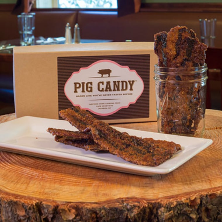 Pig Candy from Cafe Genevieve