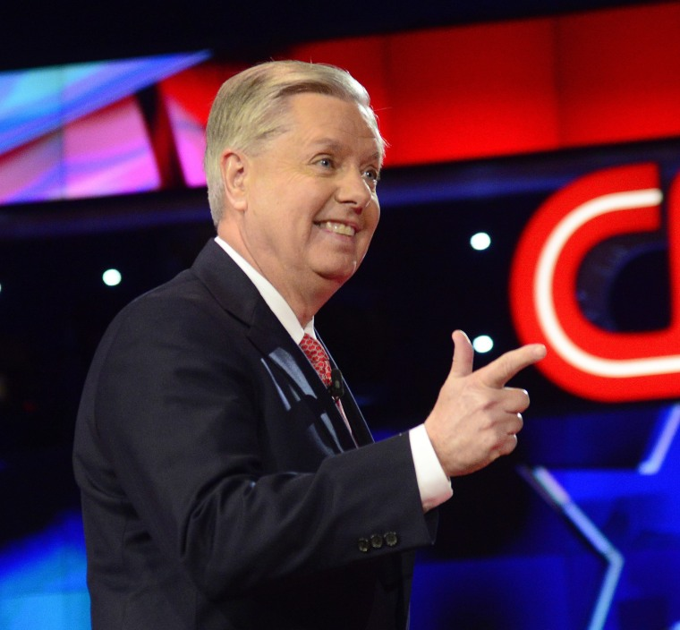 Image: Lindsey Graham drops out of the 2016 presidential race