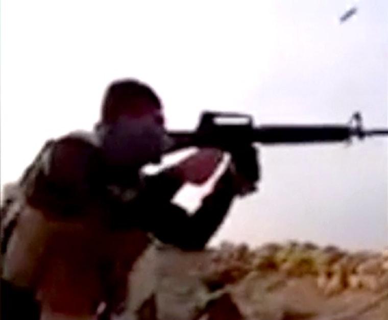 IMAGE: Fighting near Ramadi