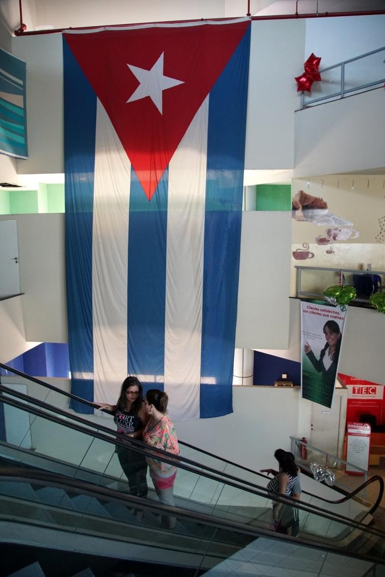 Havana - Inside La Puntilla shopping center, Dec. 2015