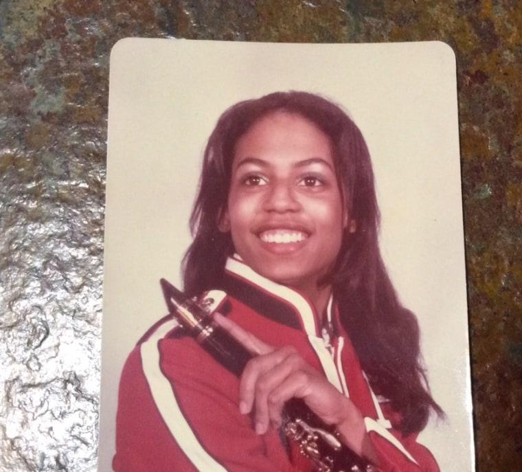 Linda Goler Blount in high school