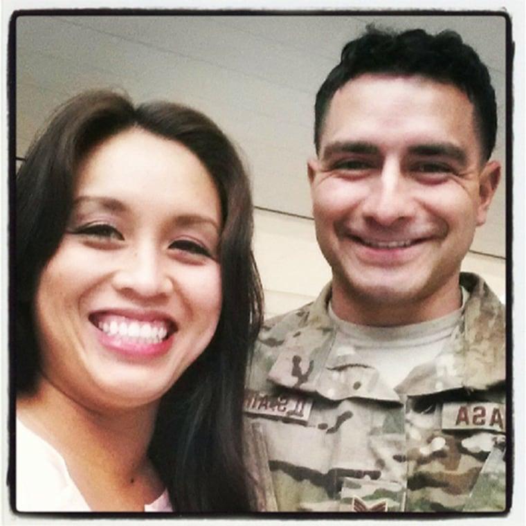Image: Staff Sergeant Louis Bonacasa was killed in a suicide bombing in Afghanistan.