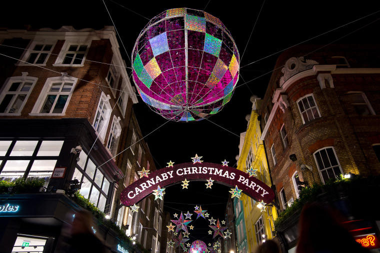Image: London Lights Up For Christmas