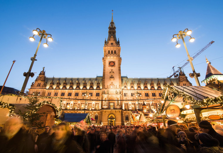 Image: Christmas market in Hamburg