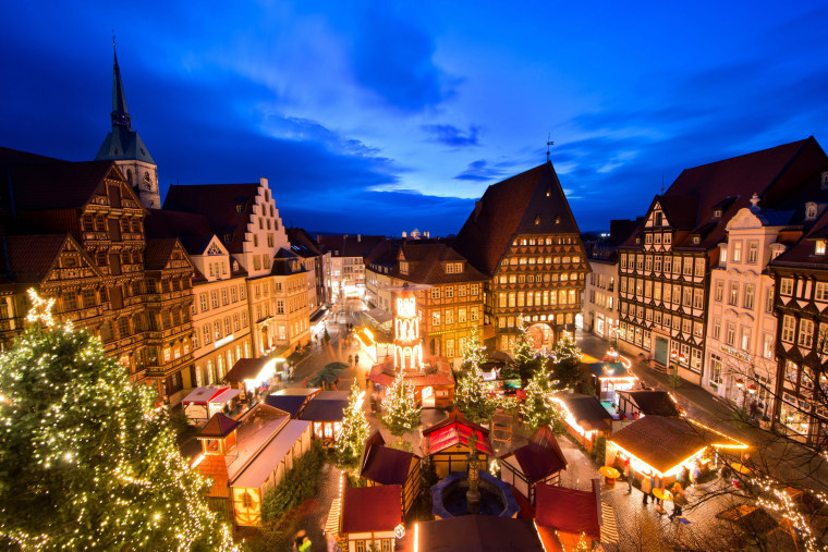 Image: Christmas market in Hildesheim