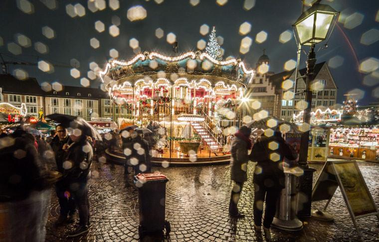 Image: Christmas market in Frankfurt
