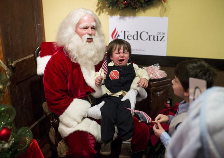 santa on cruz campaign stop