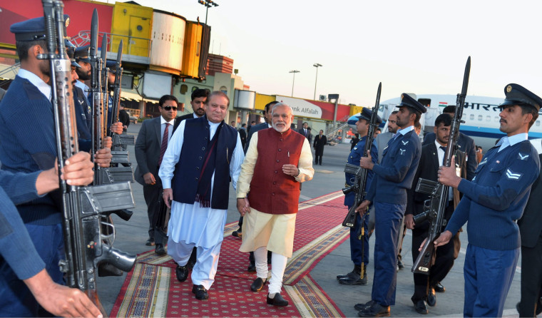Indian Prime Minister Narendra Modi Makes Surprise Visit to Pakistan