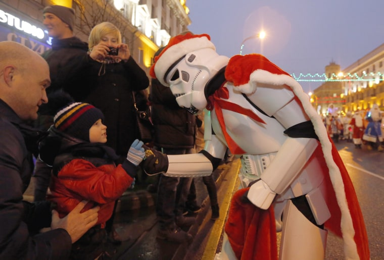 Image: Christmas Parade in Minsk