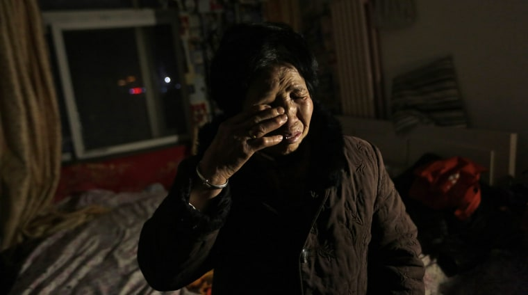Image: Forced eviction in Xihongmen, Daxing district of Beijing