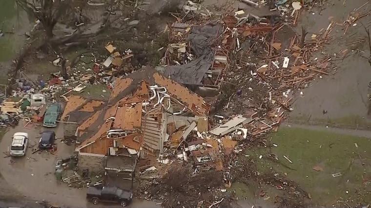 Image: Garland Texas tornado