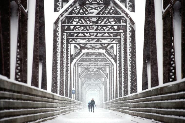 Image: Canada snow