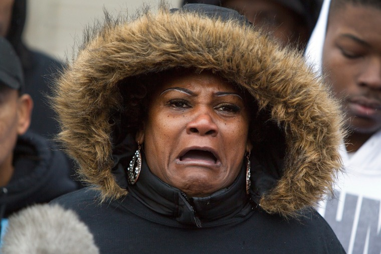 Image: Vigil Held For Woman And Teen Boy Shot And Killed By Chicago Police