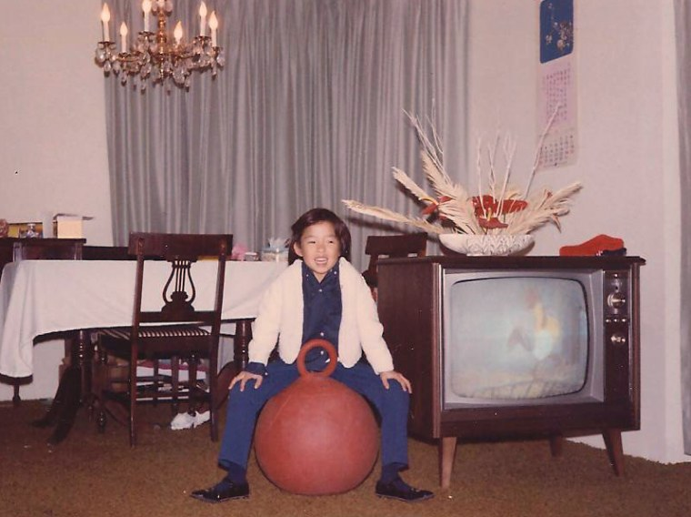 As a child, Frances Kai-Hwa Wang learned English and American culture via the television.