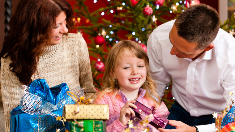 Getting together with friends and family for the holidays can be stressful for kids as well as adults, but there are valuable lessons to be learned.