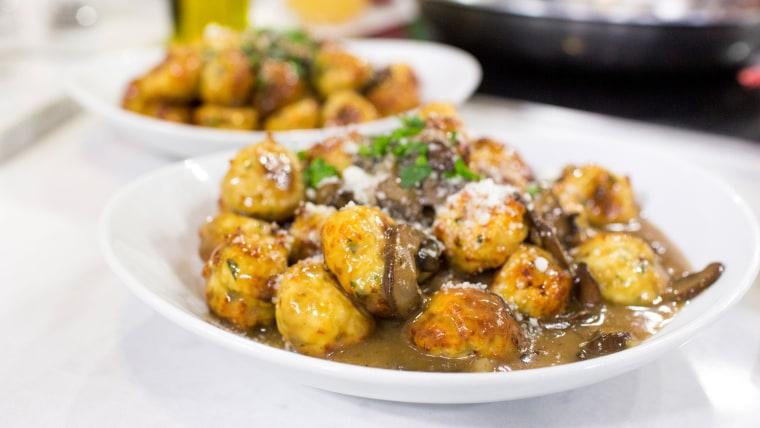 Giada De Laurentiis' recipe for marsala meatballs