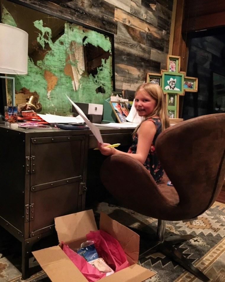 "Sophia Feller founded ""Heaven Sent It"" to help grieving kids"
