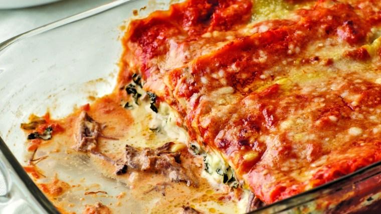 Giada de Laurentiis shares her recipe for short rib lasagna