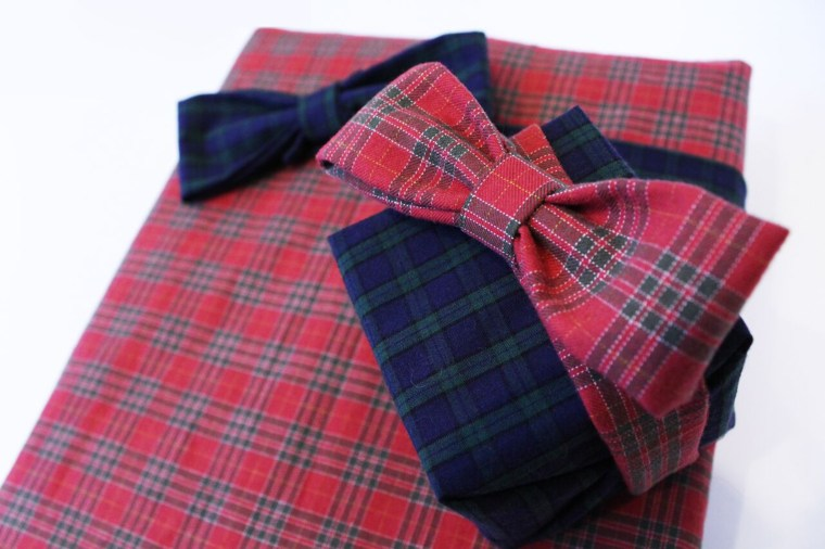 Just a tad of plaid for the wrap hack win!