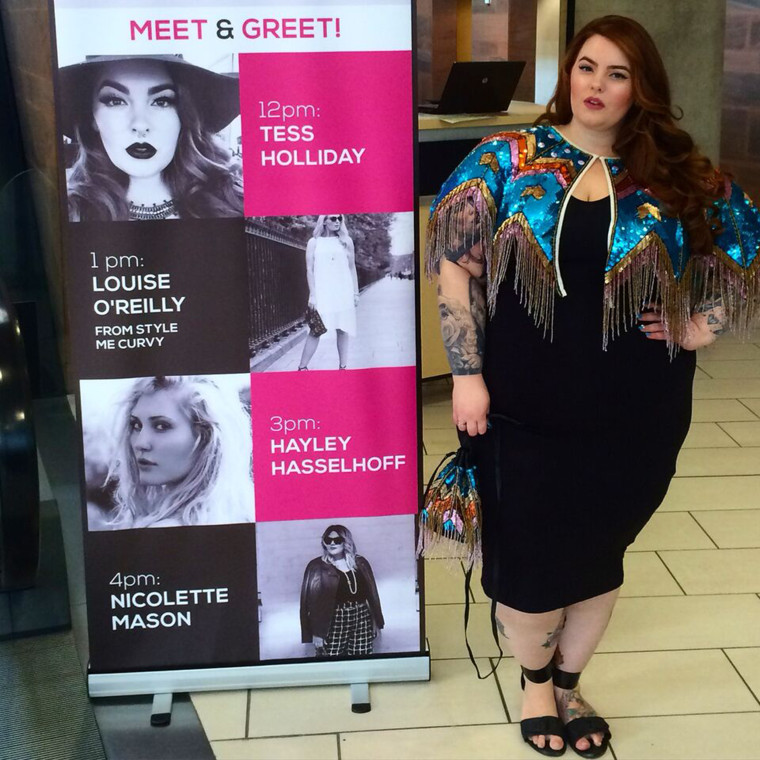 Tess Holliday, world's first size 22 model