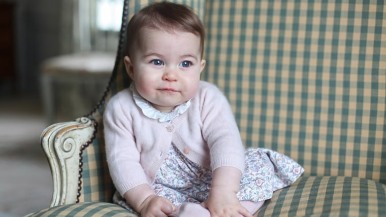Image: Princess Charlotte - Official Photographs Released