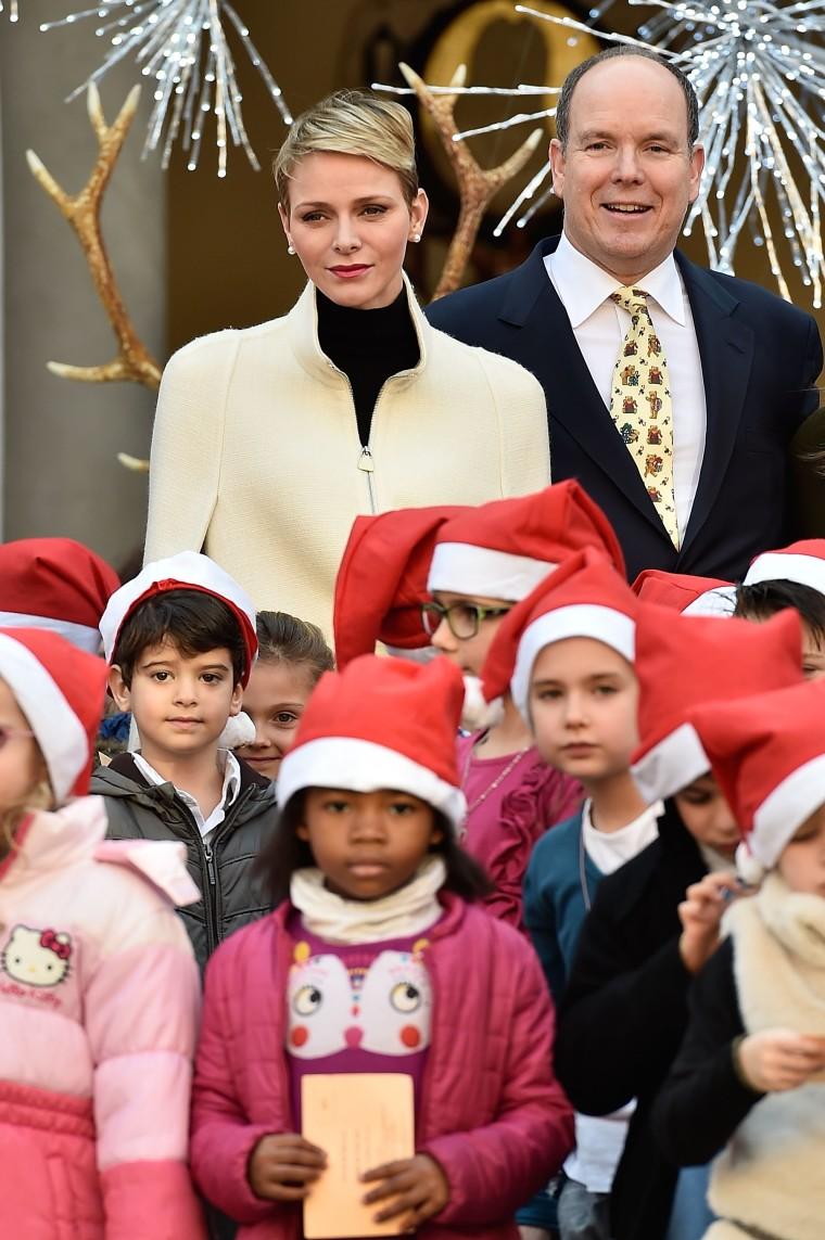 Princess Charlene of Monaco and Prince Albert II of Monaco