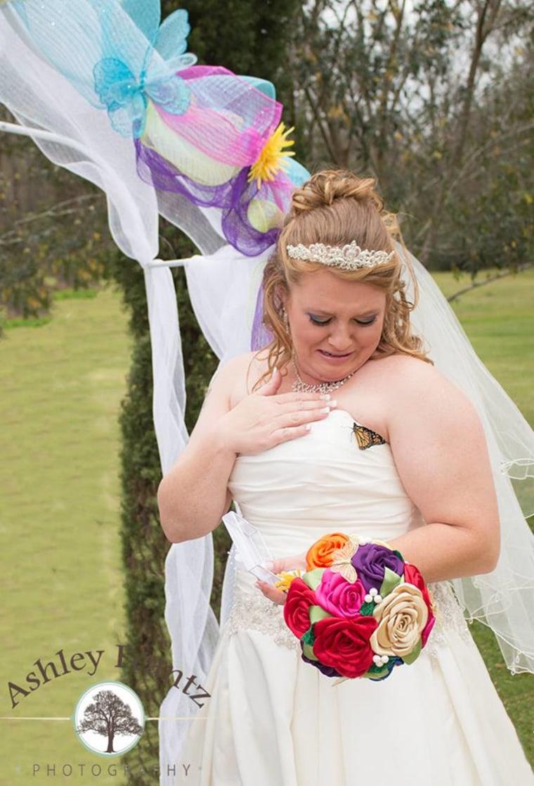 amanda cole wedding photo