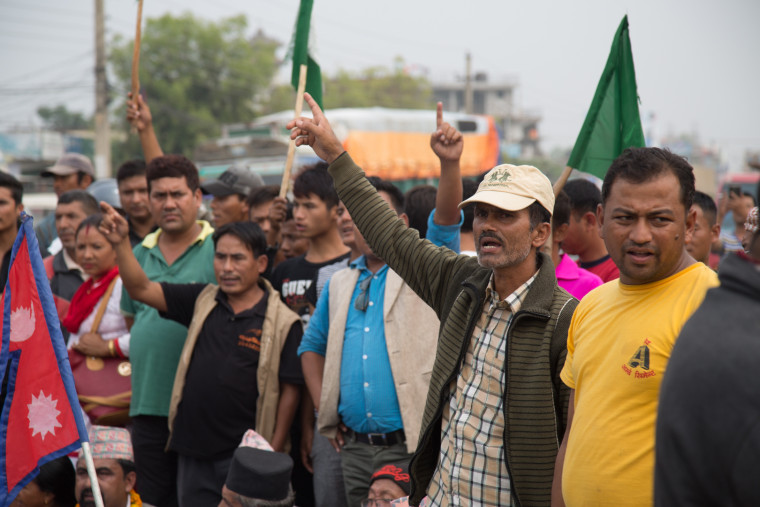 Madhesi protesters have been voicing their opposition to Nepal's new constitution, which the country promulgated in September 2015.