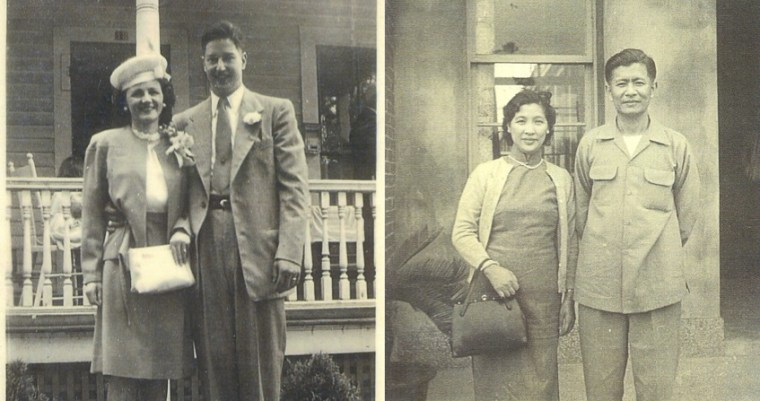 "Grandparents of Sharon H. Chang, author of ""Raising Mixed Race: Multiracial Asian Children in a Post-Racial World."""