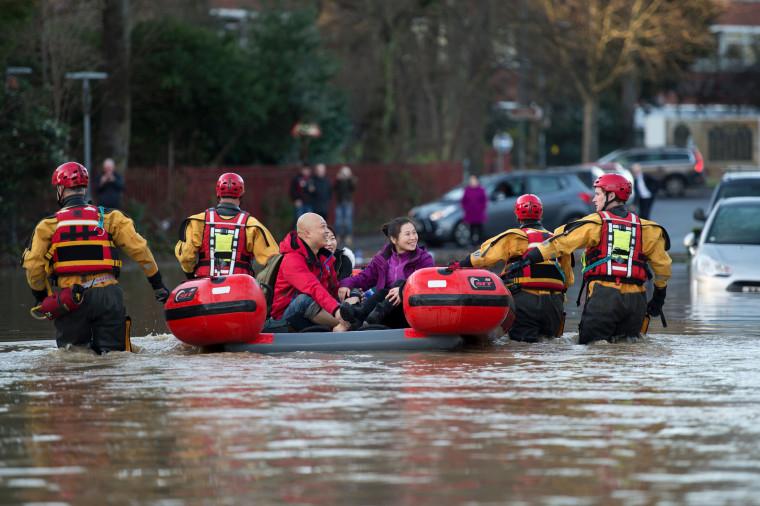 Image: TOPSHOT-BRITAIN-WEATHER-FLOOD
