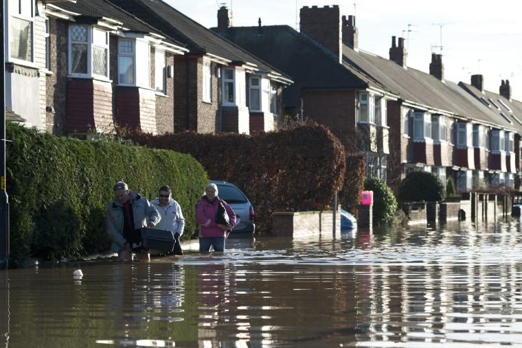 Image: BRITAIN-WEATHER-FLOOD