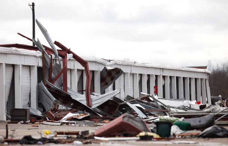 Image: Texas Residents Begin Recovery After Tornadoes Create Path of Destruction