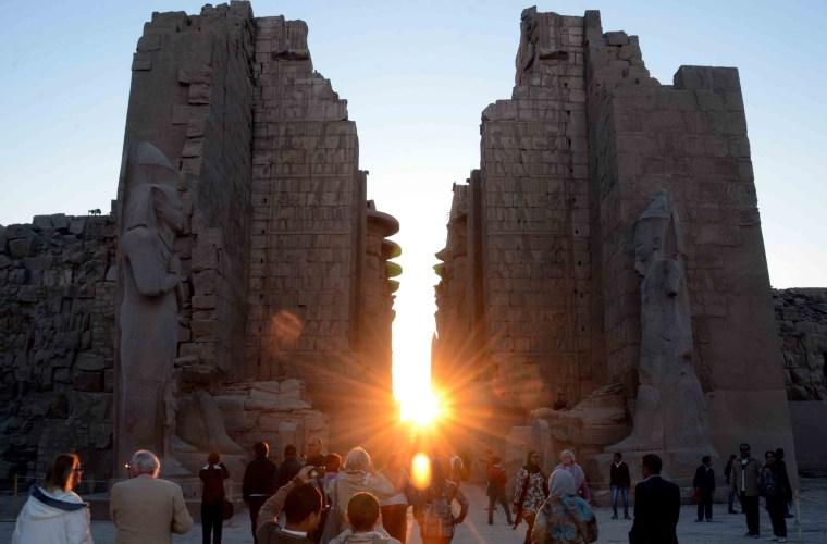Image: EGYPT-TOURISM-HERITAGE-LUXOR