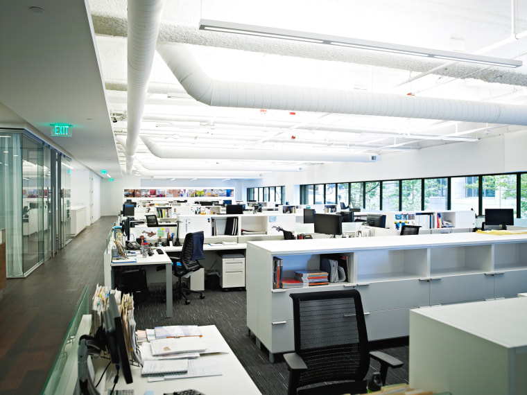 Image: Empty office