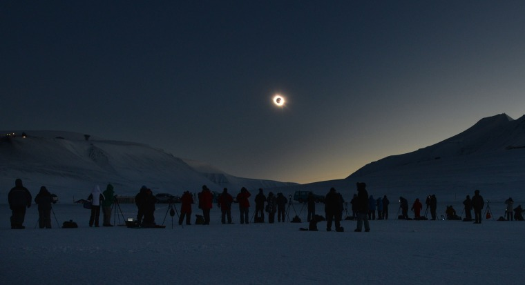 Image: NORWAY-ASTRONOMY-SOLAR-ECLIPSE