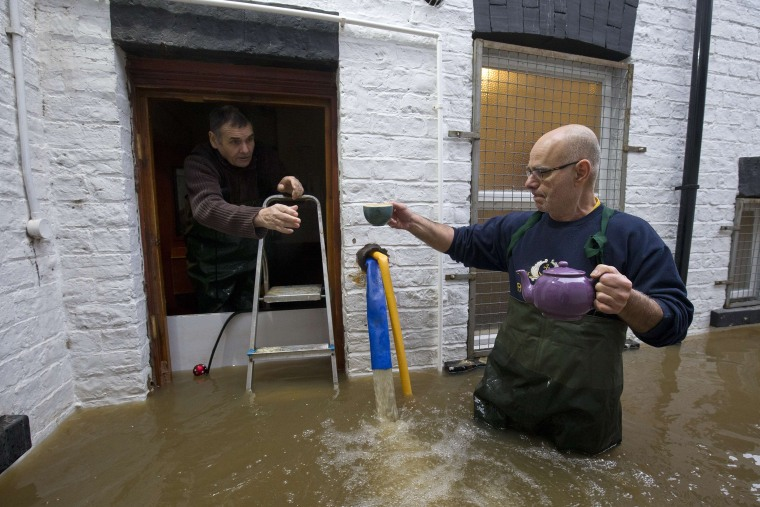 Image: Flooding in York, England