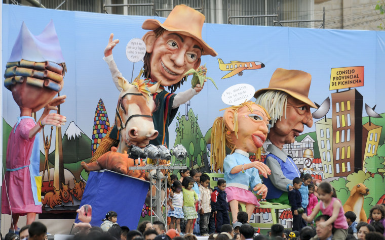Ecuador Celebrates New Year's Eve