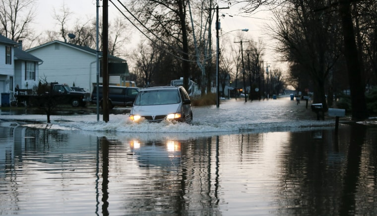 Image: Flooding in Pontoon Beach